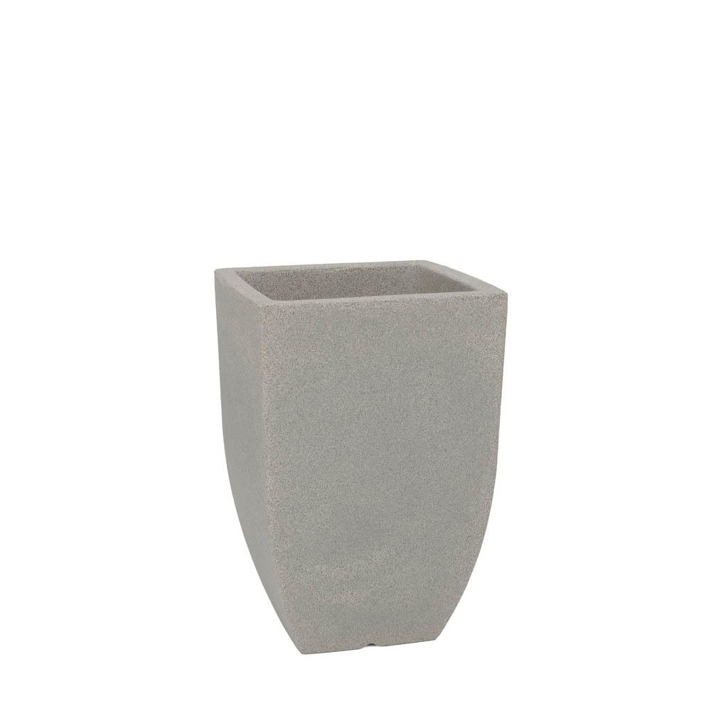 Vaso Malta Trapézio 30 x 45 cm Granito Pedra Vasart