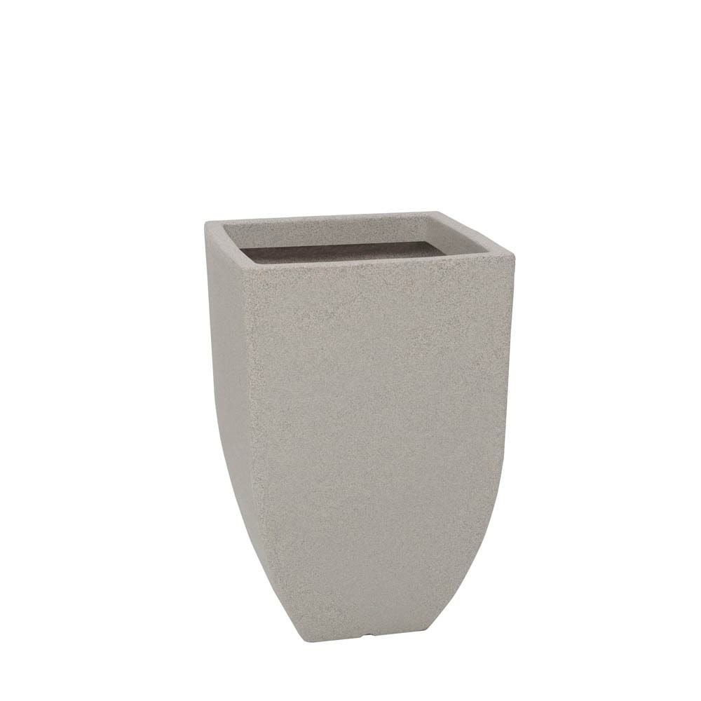 Vaso Malta Trapézio 36 x 55 cm Granito Pedra Vasart