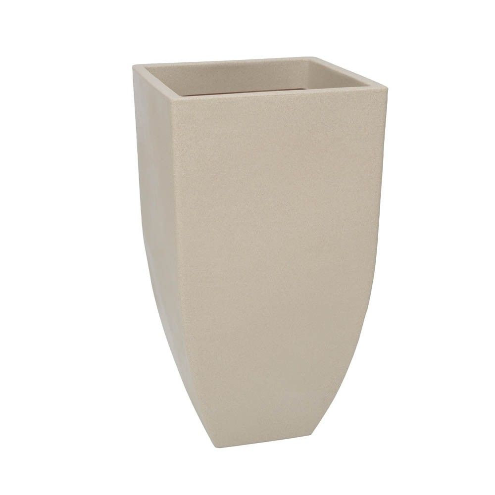 Vaso Malta Trapézio 42x76 cm Granito Areia