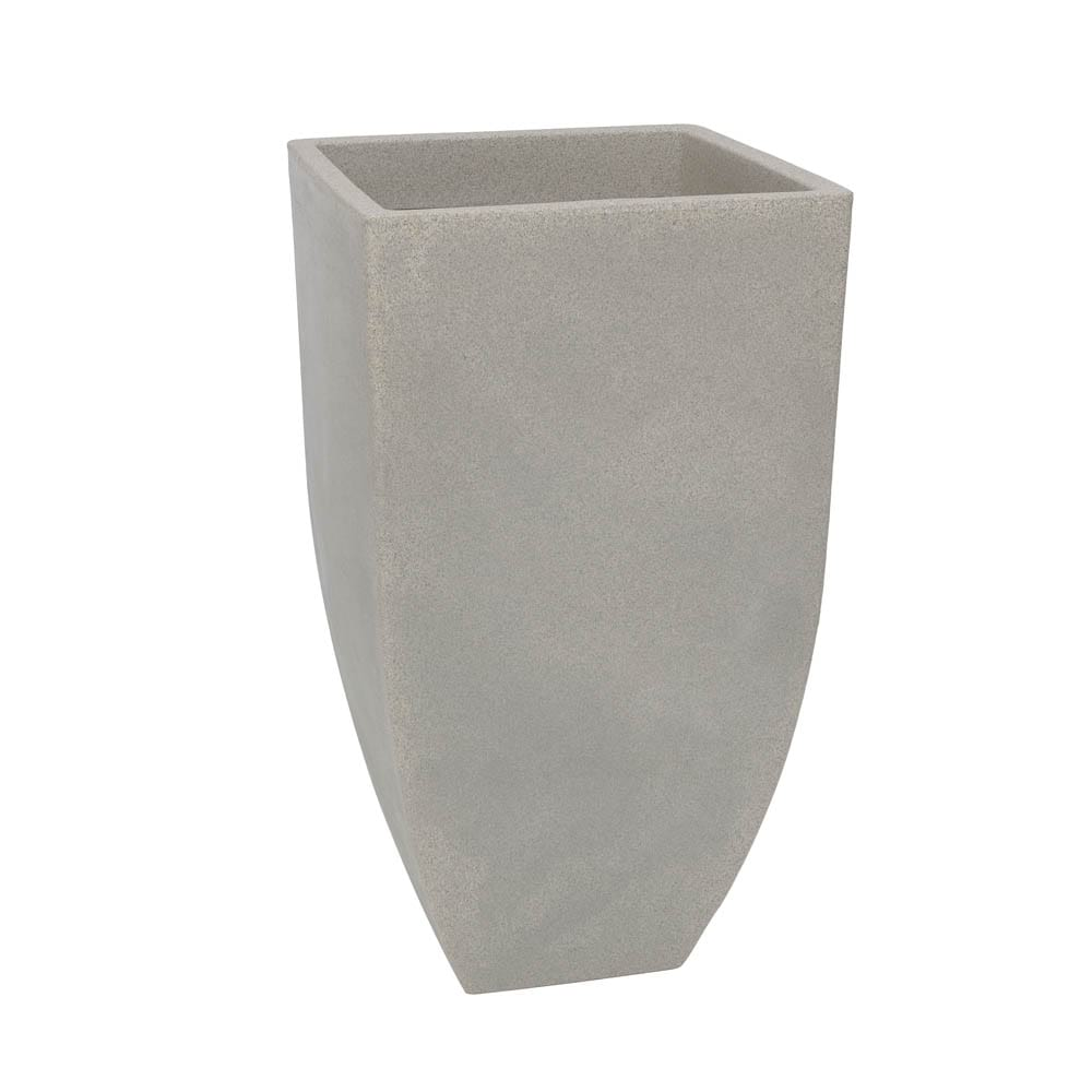 Vaso Malta Trapézio 42 x 76 cm granito Pedra Vasart