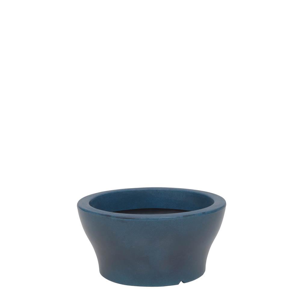 Vaso Milão 34 x 17 cm Vietnamita Azul Vasart