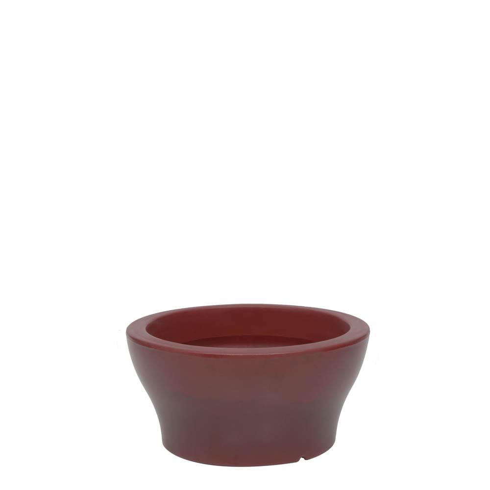Vaso Milão 34 x 17 cm Vietnamita Vermelho Vasart