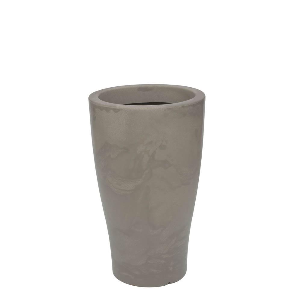 Vaso Milão 35 x 58 cm Concreto Marmorizado Vasart