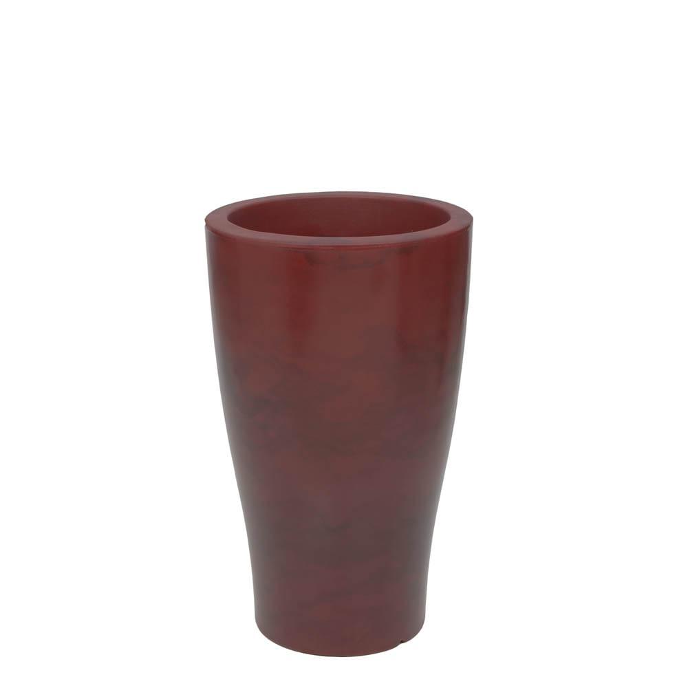 Vaso Milão 35 x 58 cm Vietnamita Vermelho Vasart