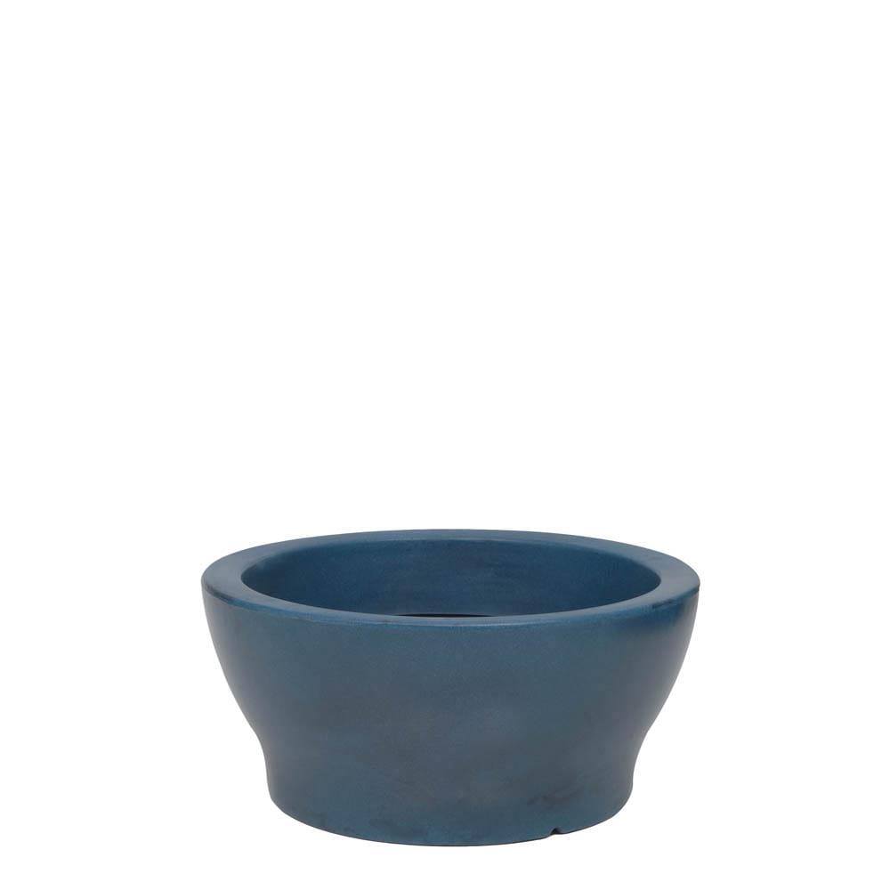 Vaso Milão 45 x 20 cm Vietnamita Azul Vasart