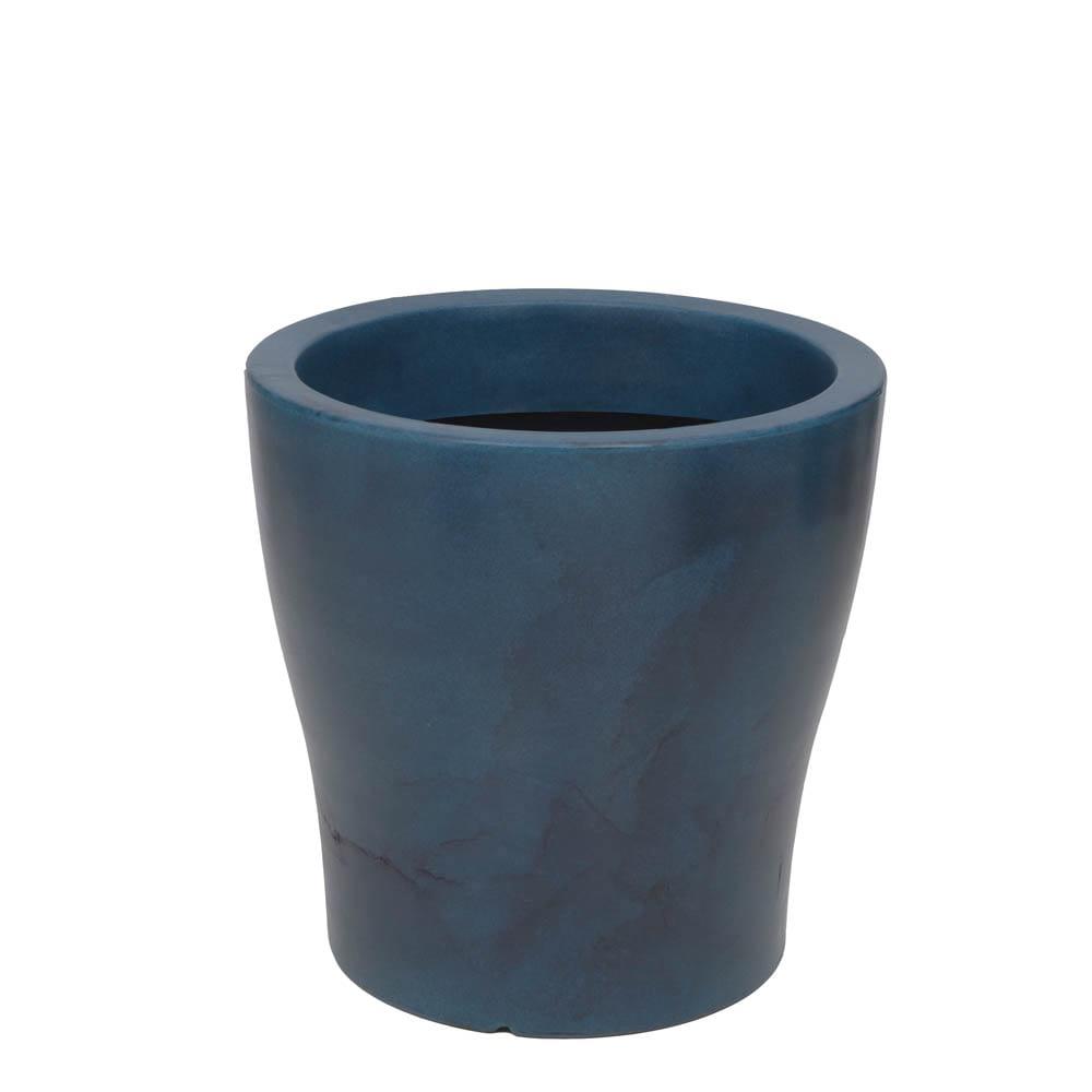 Vaso Milão 47 x 47 cm Vietnamita Azul Vasart