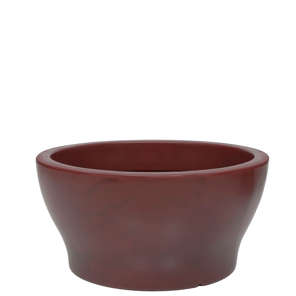 Vaso Milão 57 x 28 cm Vietnamita Vermelho Vasart