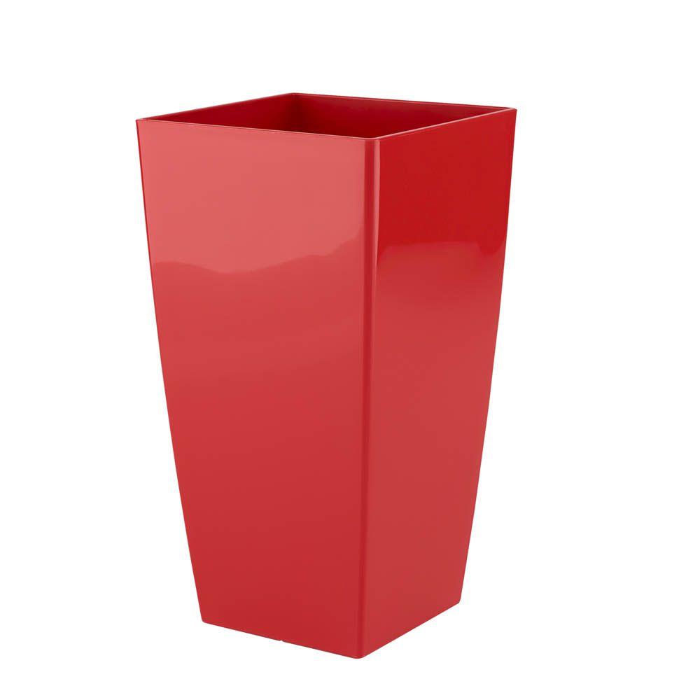 Vaso Piza 14 x 26 cm Vermelho Vasart