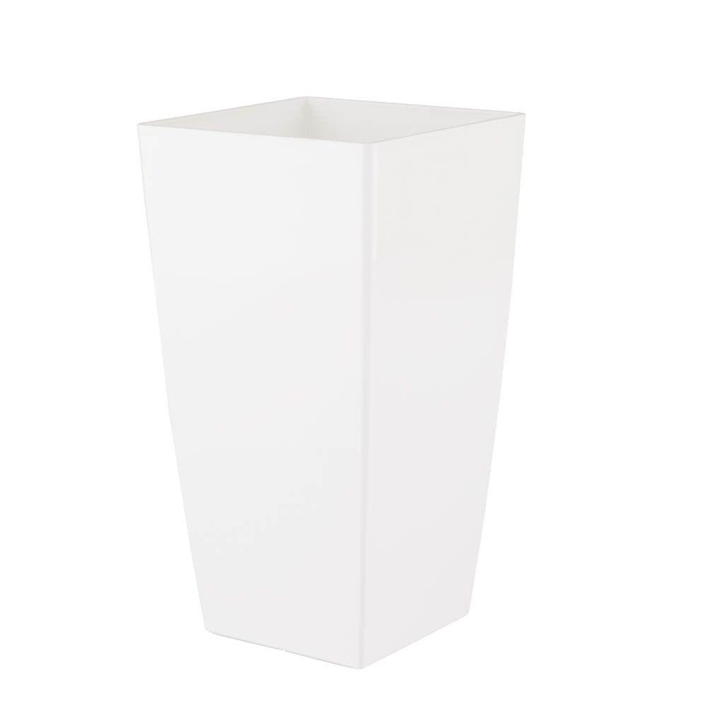 Vaso Piza 14 x 26 cm Branco Vasart