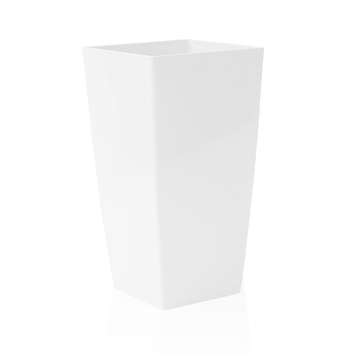 Vaso Piza 22 x 40 cm Branco Vasart