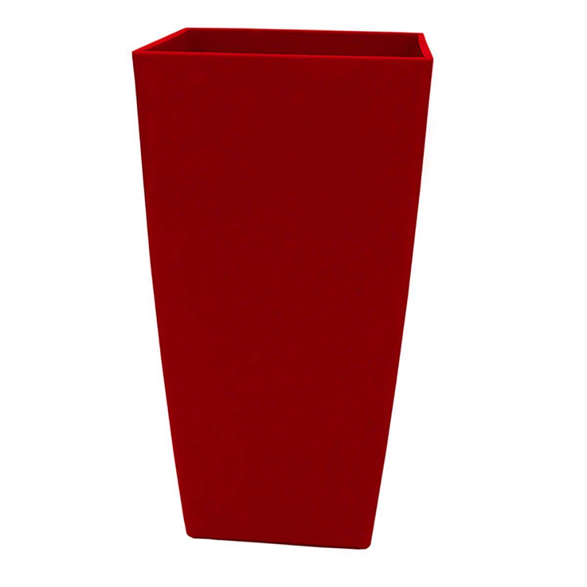Vaso Piza 22 x 40 cm Vermelho Vasart