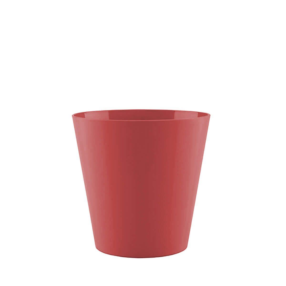 Vaso Porto 18 x 16 cm Vermelho Vasart