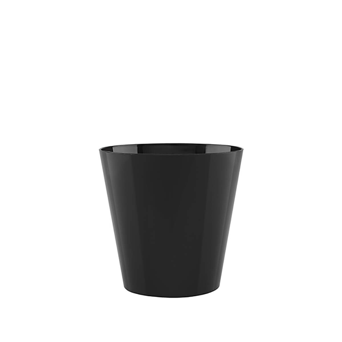 Vaso Porto 18 x 16 cm Preto Vasart