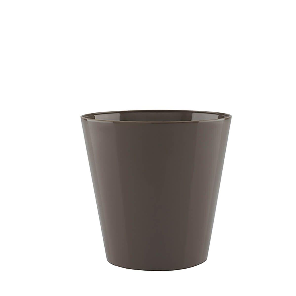 Vaso Porto 18 x 16 cm Taupe Vasart