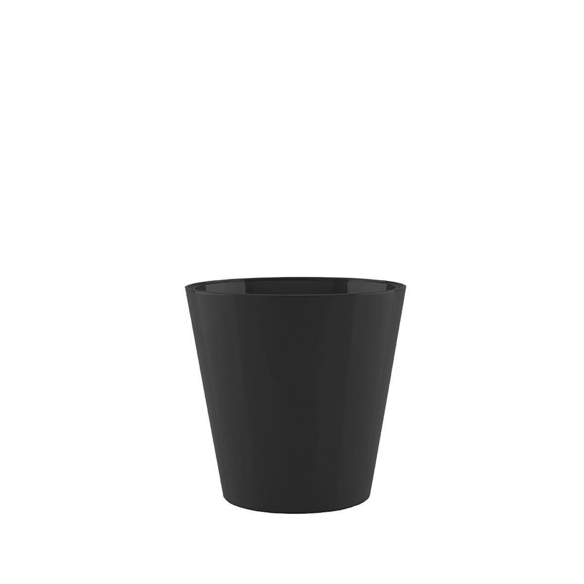 Vaso Porto Alto 13 x 15 cm Preto Vasart