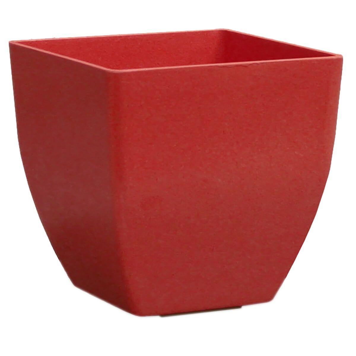 Vaso Siena 30 x 27 cm Vermelho Vasart