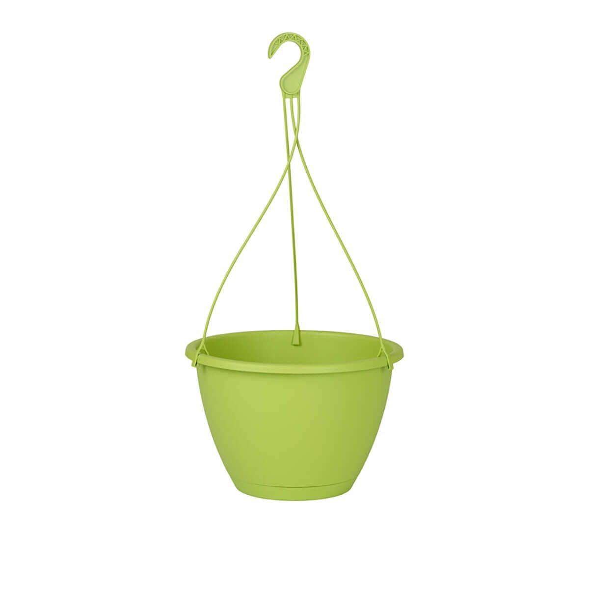 Vaso Suspenso Algarve 31x20 cm Verde