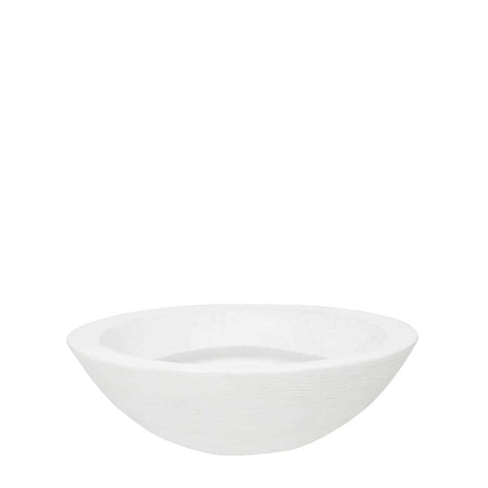 Vaso Terra Bowl 75 x 24 cm Branco Vasart