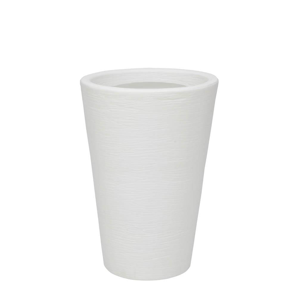 Vaso Terra Cone 38 x 55 cm Branco Vasart