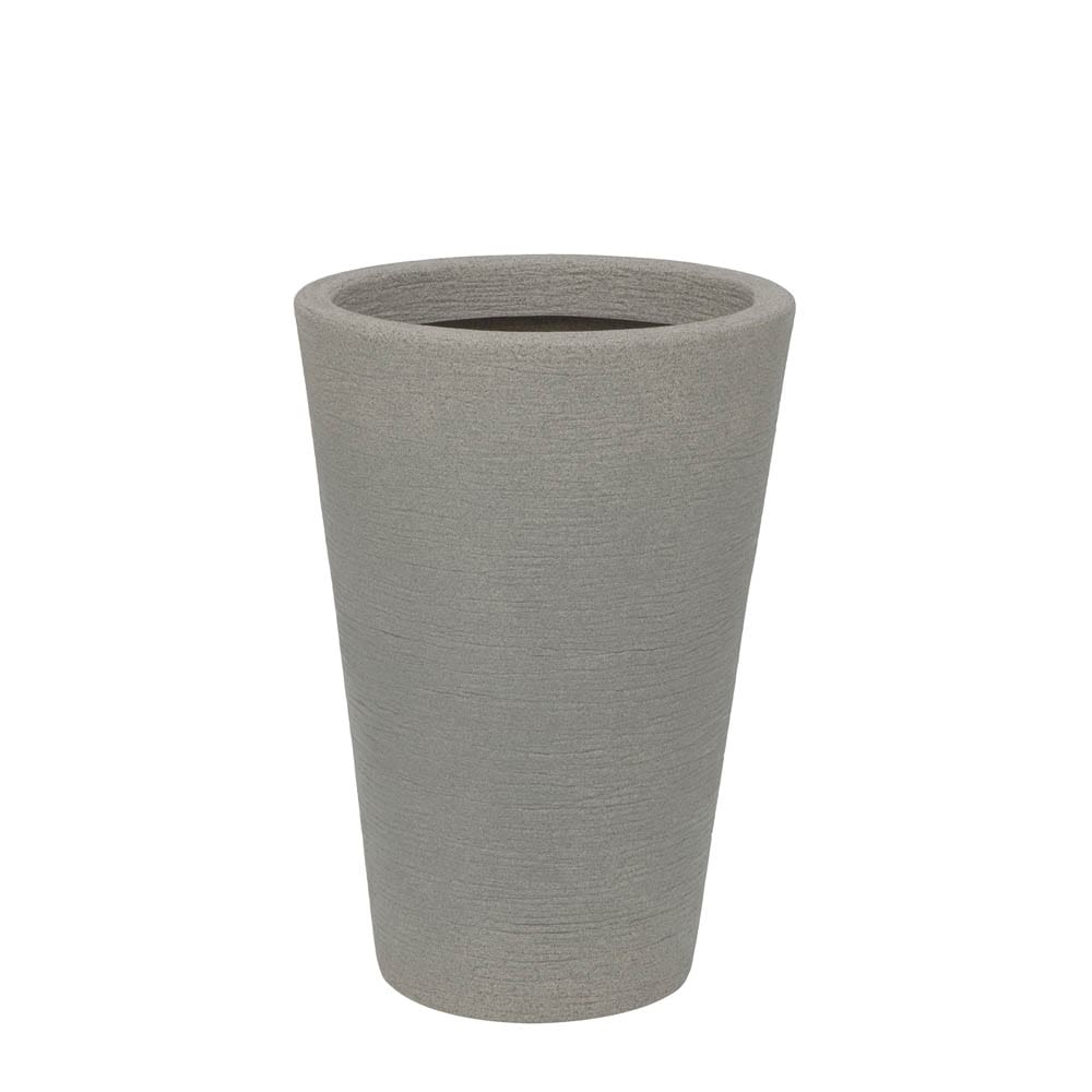 Vaso Terra Cone 38 x 55 cm Granito Pedra Vasart