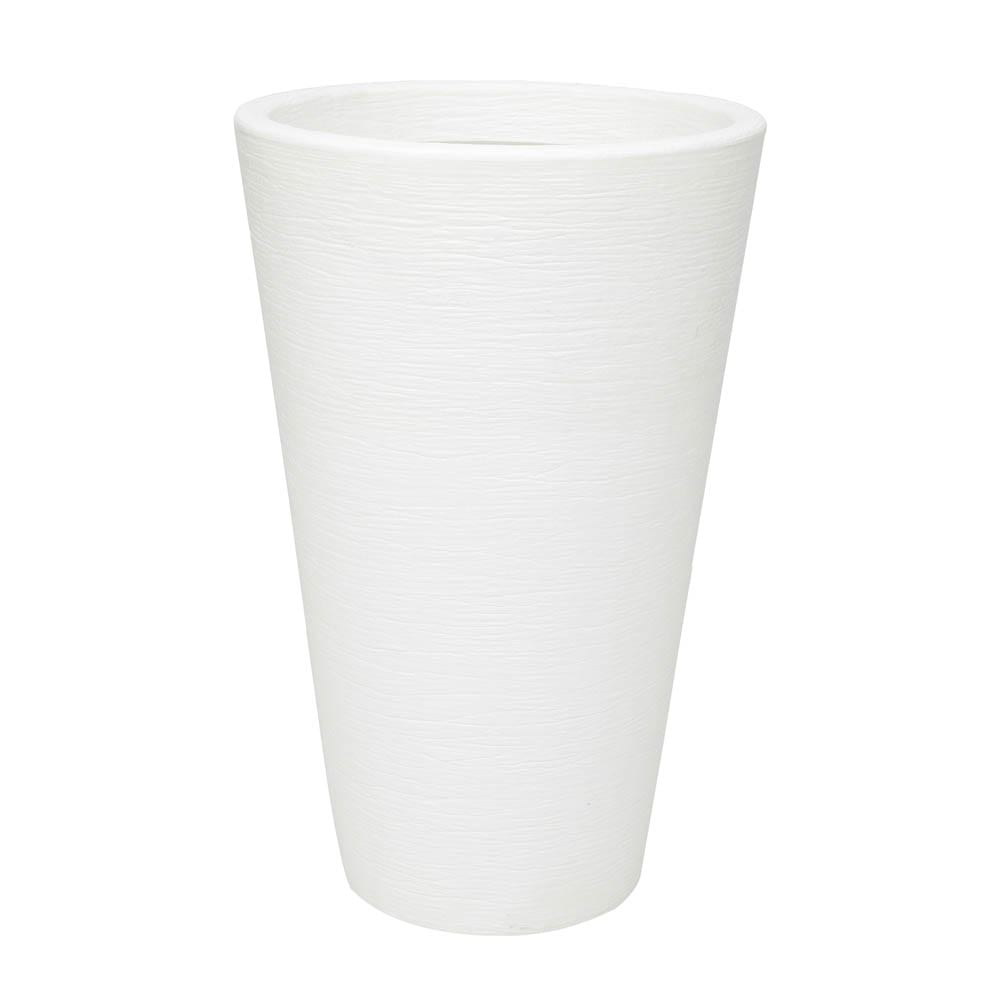 Vaso Terra Cone 48 x 76 cm Branco Vasart