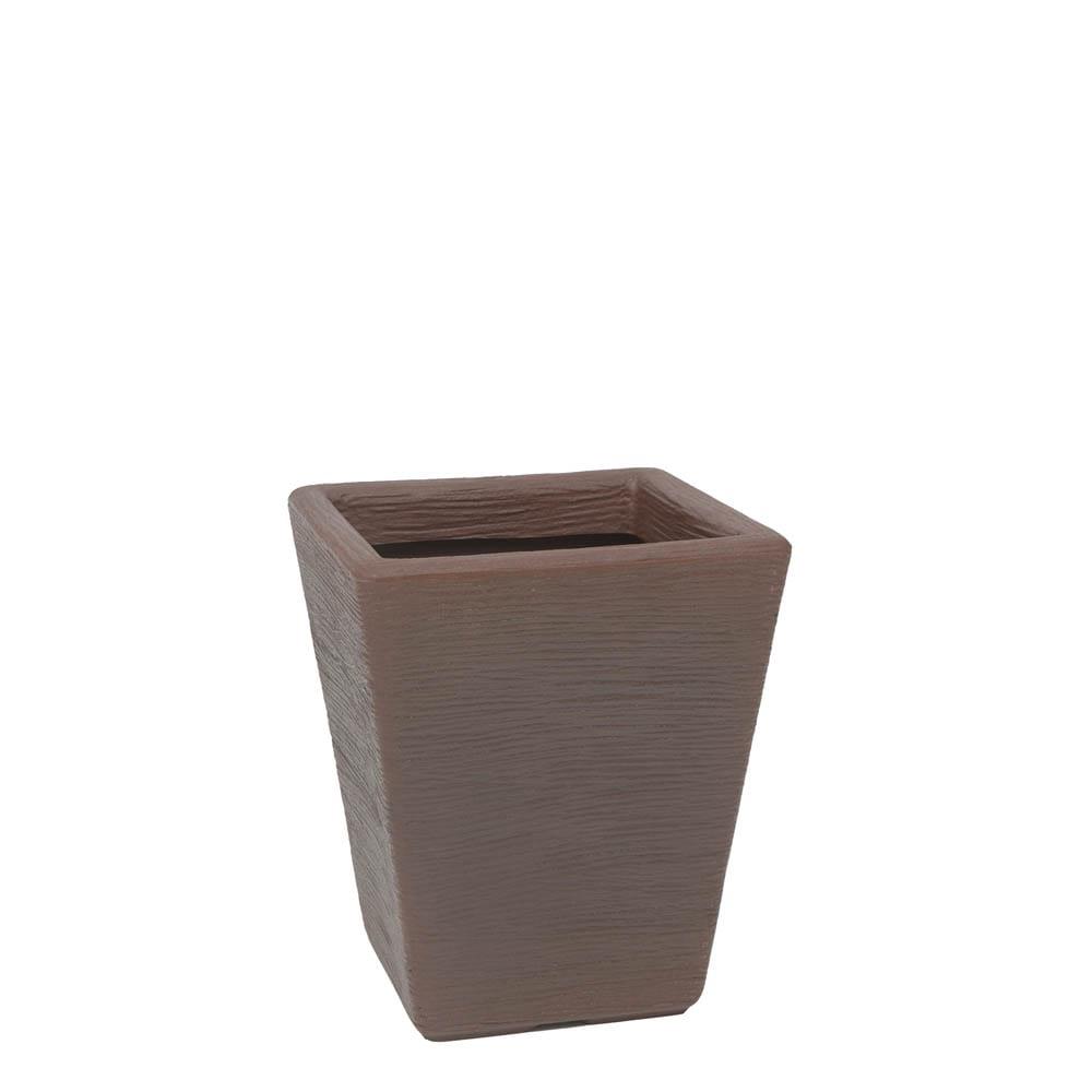 Vaso Terra Trapézio 30 x 35 cm Corten Vasart