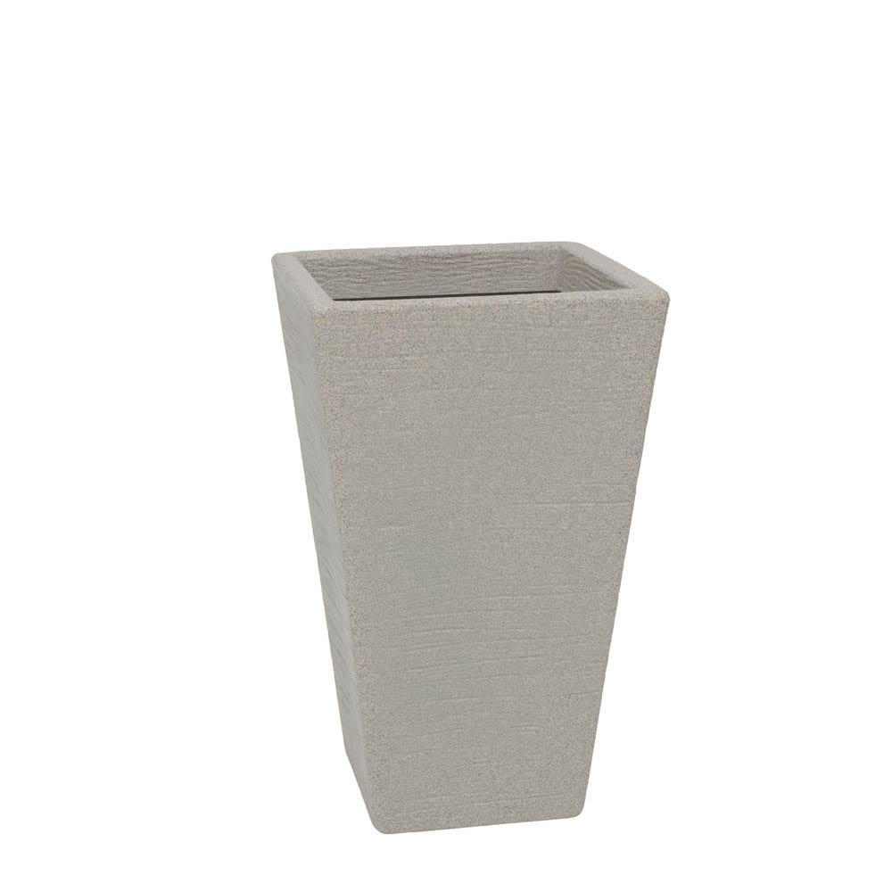 Vaso Terra Trapézio 34 x 55 cm Granito Pedra Vasart