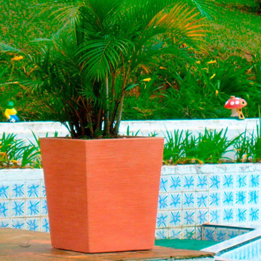 Vaso Terra Trapézio 34 x 55 cm Antique Terracota Vasart