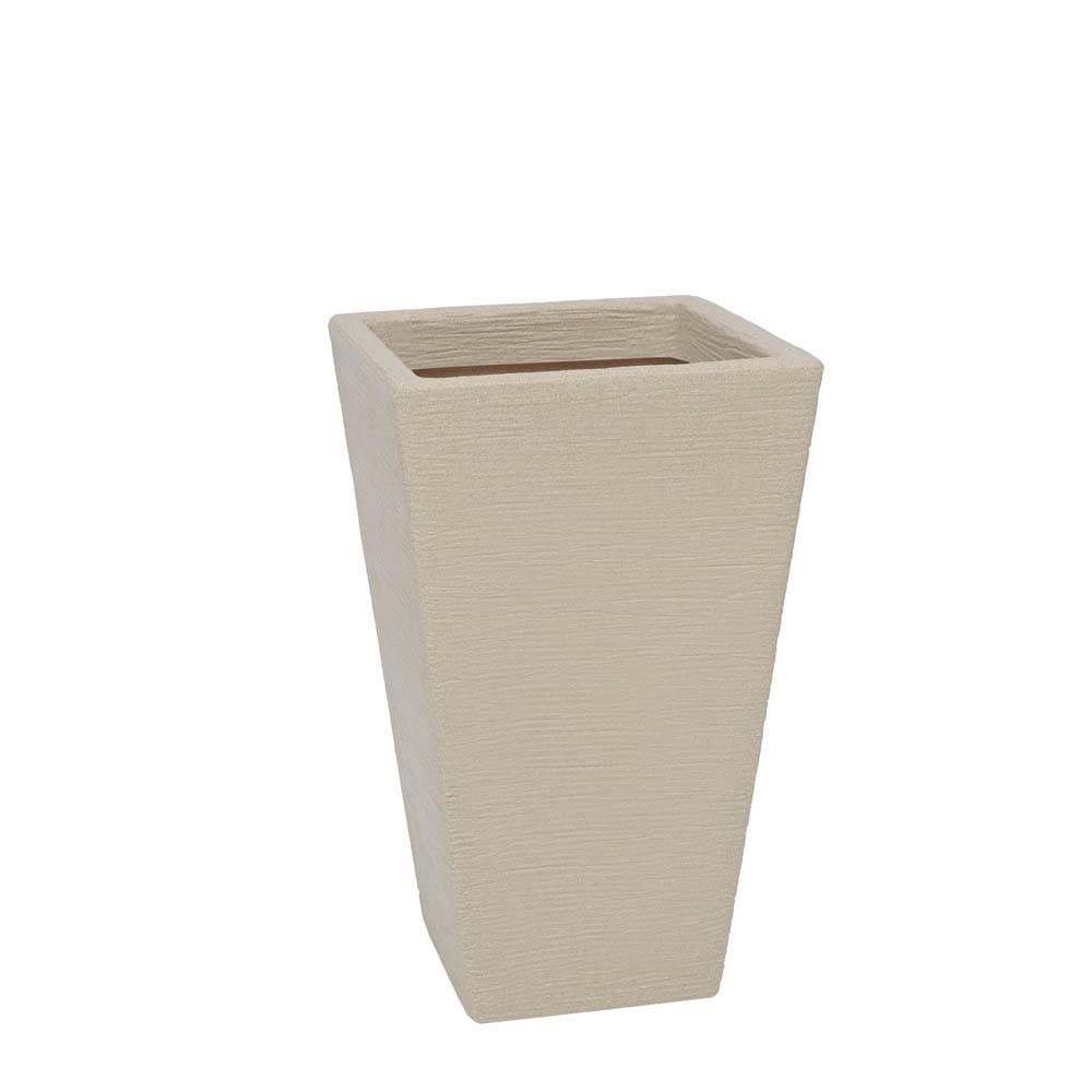 Vaso Terra Trapézio 34 x 55 cm Granito Areia Vasart