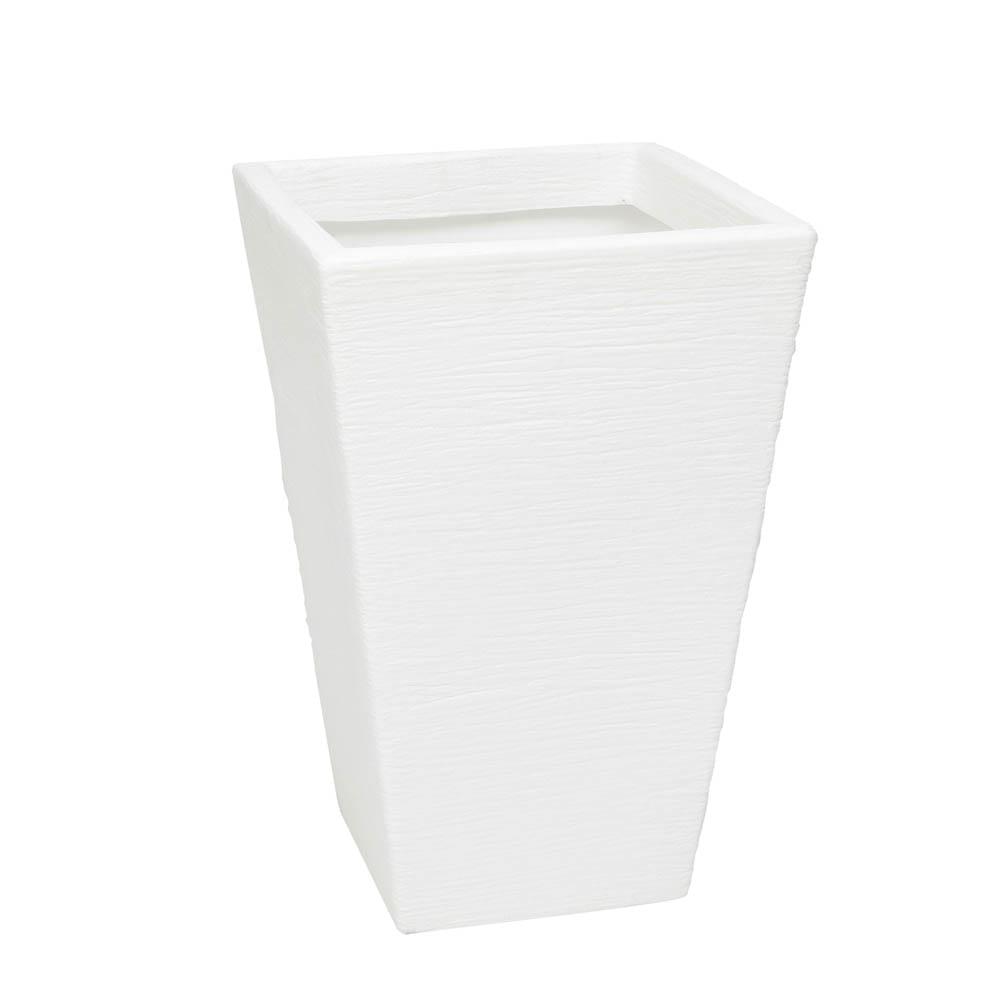 Vaso Terra Trapézio 40 x 60 cm Branco Vasart