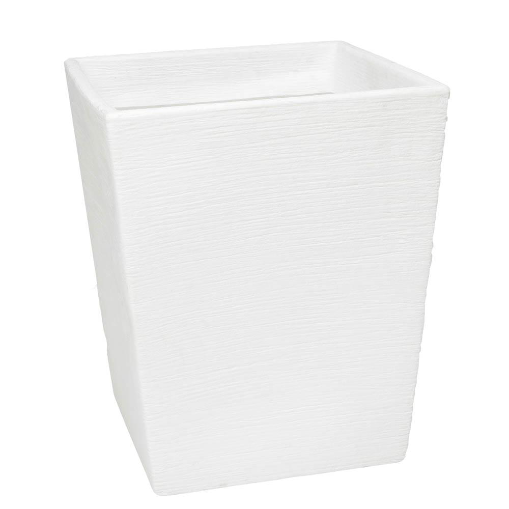 Vaso Terra Trapézio 56 x 68 cm Branco Vasart