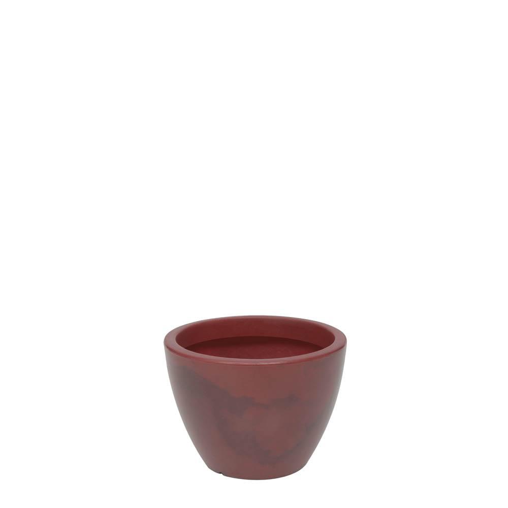 Vaso Verona 30 x 22 cm Vietnamita Vermelho Vasart