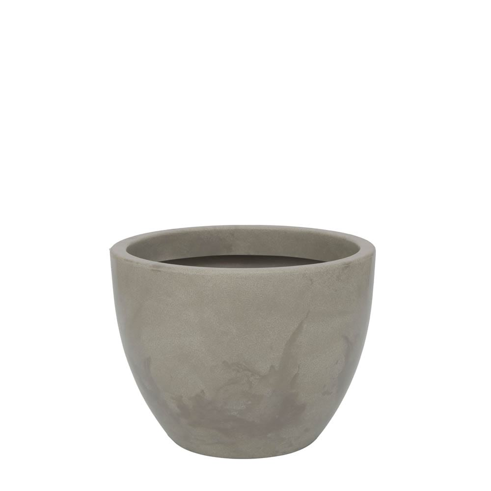 Vaso Verona 40 x 30 cm Concreto Marmorizado Vasart
