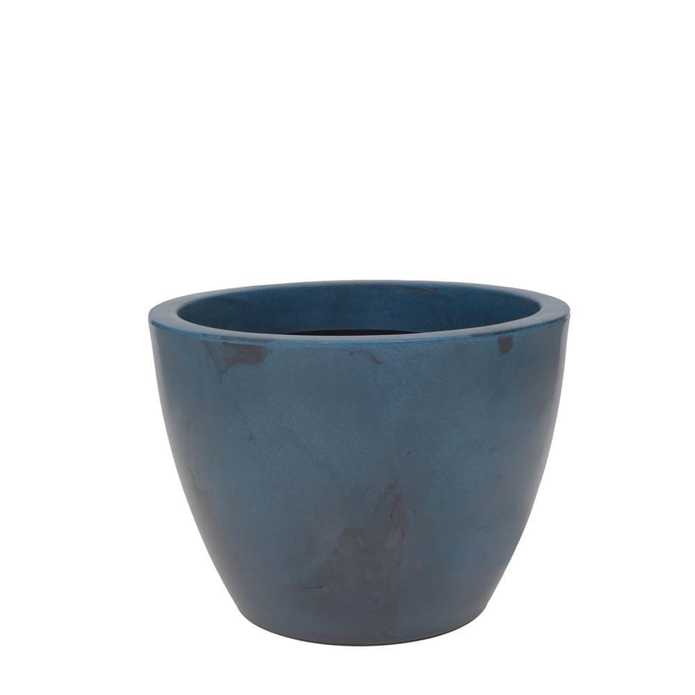 Vaso Verona 50 x 37 cm Vietnamita Azul Vasart
