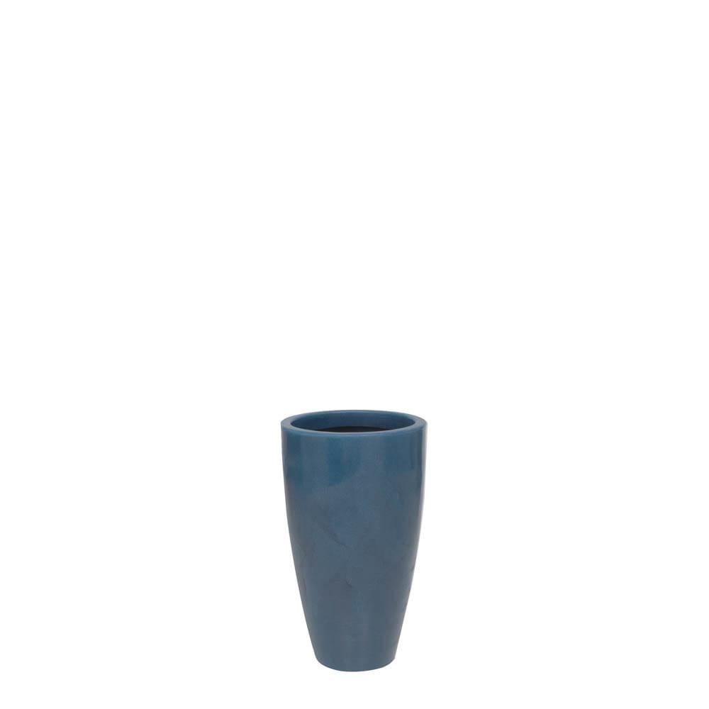 Vaso Verona Alto 30 x 53 cm Vietnamita Azul Vasart