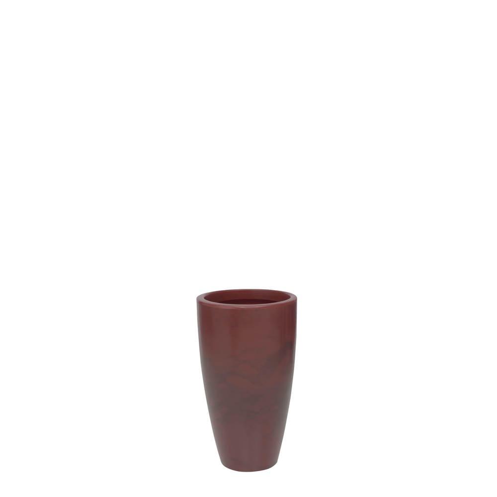 Vaso Verona Alto 30 x 53 cm Vietnamita Vermelho Vasart