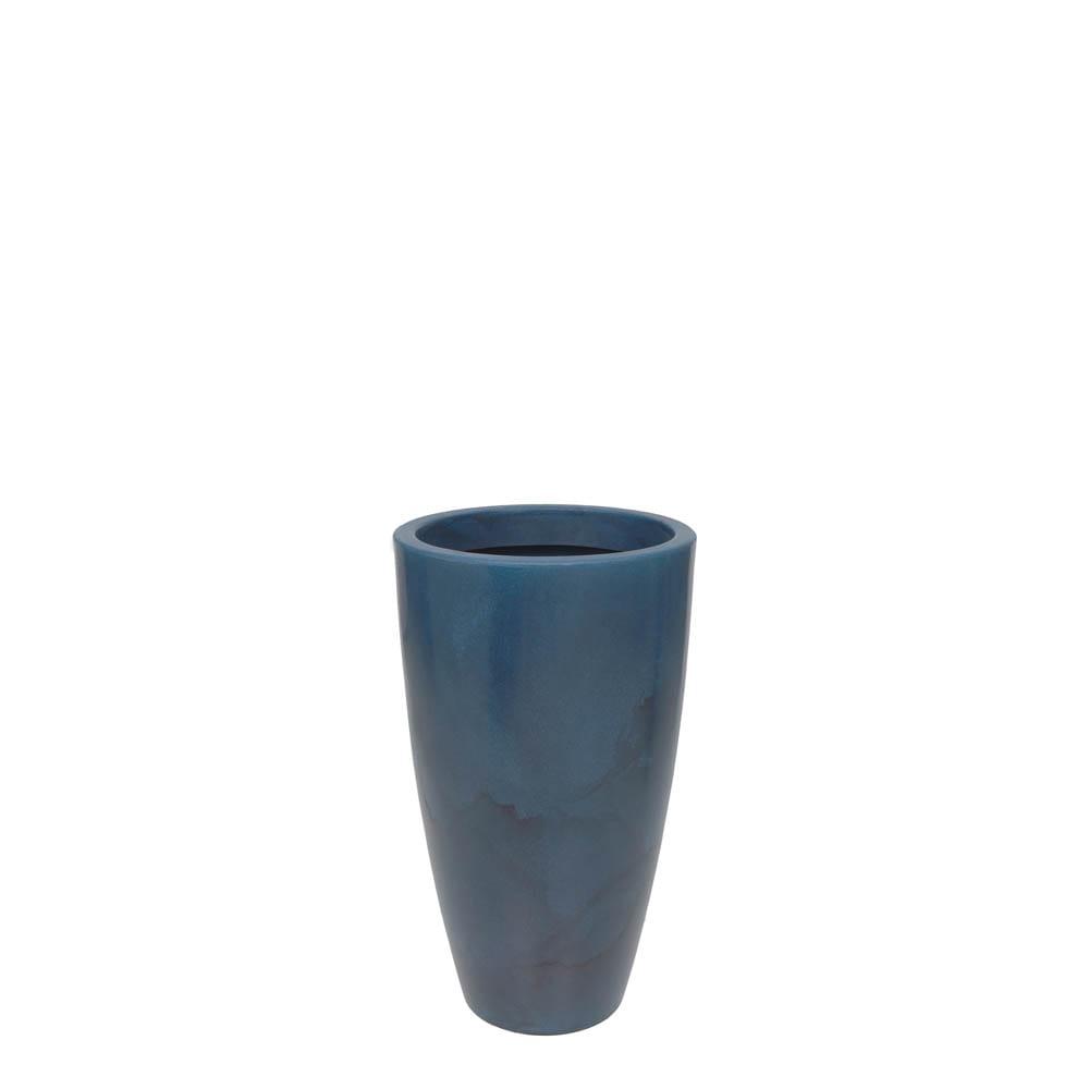 Vaso Verona Alto 40 x 70 cm Vietnamita Azul Vasart