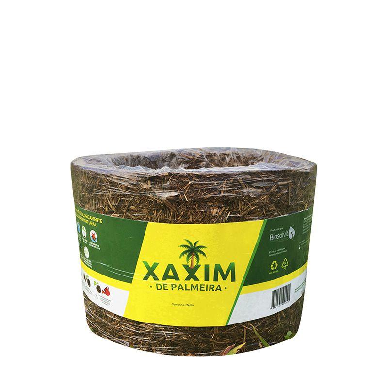 Xaxim de Palmeira Natural 14 CM - 100% Ecológico - Biosolvit