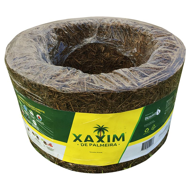 Xaxim de Palmeira Natural 26 CM - 100% Ecológico - Biosolvit