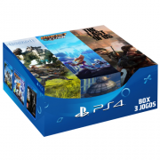 BOX 3 JOGOS: HORIZON ZERO DAWN, RATCHET E CLANK, THE LAST OF US
