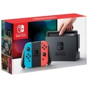 Console Nintendo Switch With Neon 32GB Azul com Vermelho
