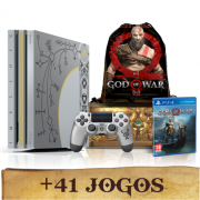 Console PlayStation 4 Pro God of War PS4 Bundle Edição limitada 1Tb + Sacola exclusiva (Pré-venda)
