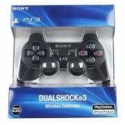 Controle Dual Shock 3 Preto PS3 - Playstation 3 Wirelless sem fio