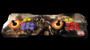 Fliperama Duplo Portátil 64GB Estampa GOD OF WAR