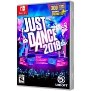 JOGO JUST DANCE 2018 SWITCH