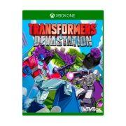JOGO TRANSFORMERS DEVASTATION XBOX ONE