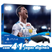 Playstation 4 Slim – 500GB com jogo Fifa 18