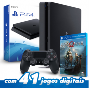 Playstation 4 Slim 500GB + JOGO GOD OF WAR