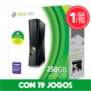 Xbox 360 250 GB Seminovo Bloqueado