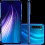 Celular Xiaomi Redmi Note 8 64GB Smartphone Versão Global Desbloqueado Azul 4GB RAM, Câmera 48MP Tela 6,3